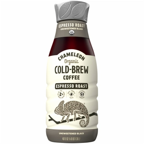 Chameleon Cold-Brew Espresso Roast Ready to Drink Coffee Perspective: front