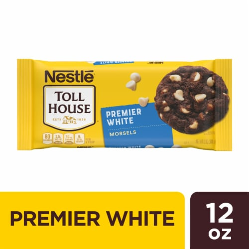 Nestle Toll House Premier White Chips Bag Perspective: front