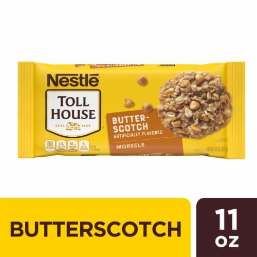 Nestle Toll House Butterscotch Chips Bag Perspective: front