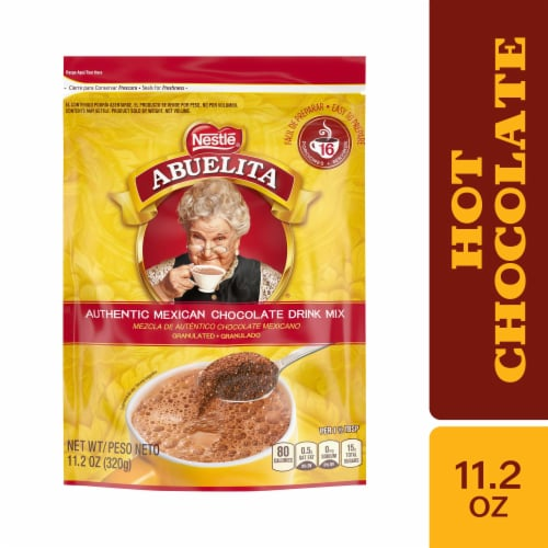 Nestle Abuelita Granulated Hot Chocolate Drink Mix Perspective: front