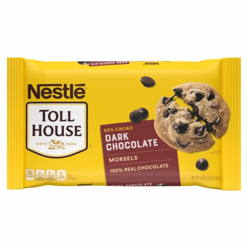 Nestle Toll House Dark Chocolate Chips Perspective: front