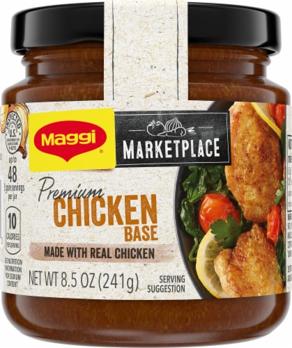 Maggi Marketplace 48 Serving Premium Chicken Base Perspective: front