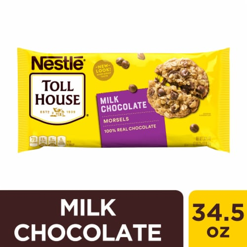 Nestle Toll House Milk Chocolate Chips Perspective: front
