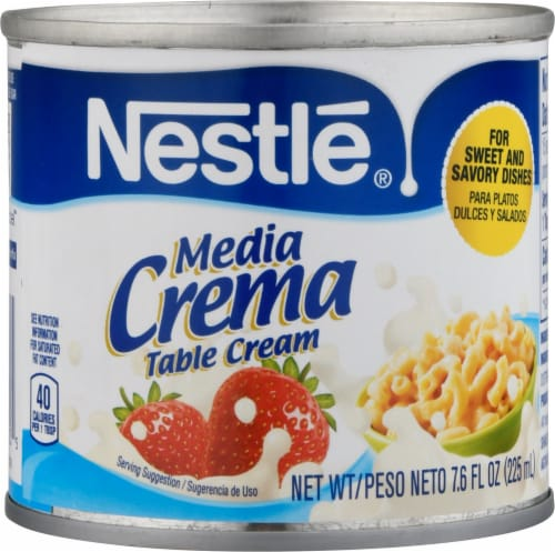 Nestle Media Crema Table Cream Perspective: front