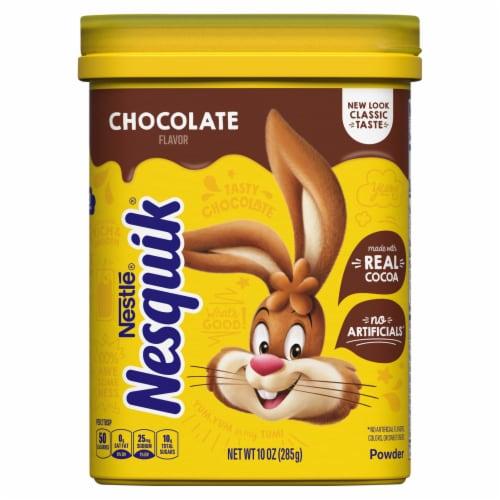 NESQUIK Chocolate Flavor Powder Drink Mix Perspective: front