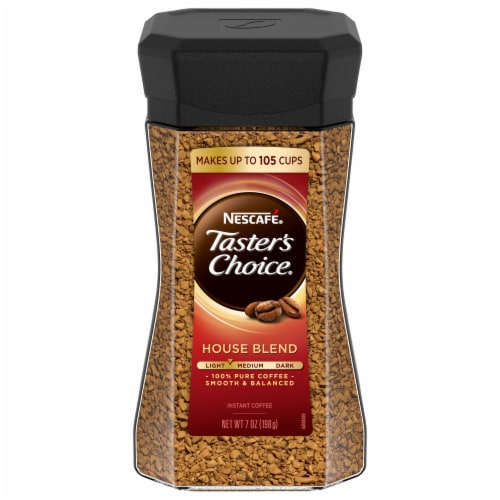 Nescafe Taster's Choice Light House Blend Instant Coffee Perspective: front