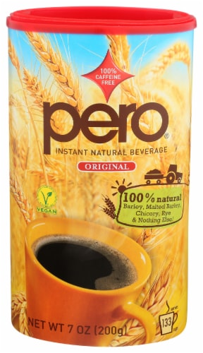 Pero Original Caffeine Free Instant Natural Beverage Perspective: front