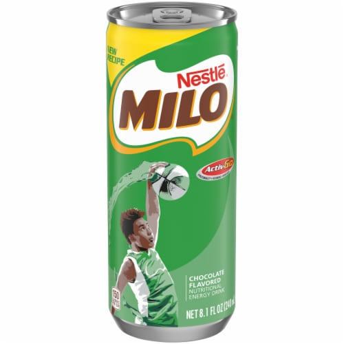 Nestle Milo Chocolate Nutritional Energy Drink Perspective: front