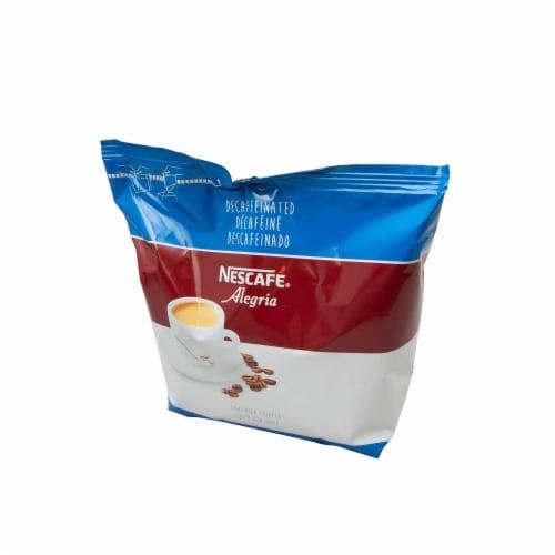 Nescafe Arabica Decaffeinated Coffee, 8.818 Ounce -- 4 per case. Perspective: front