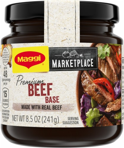 Maggi Marketplace Premium Beef Base Perspective: front