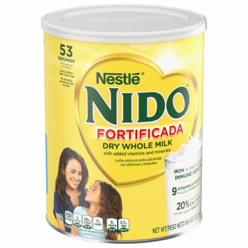 Nestle Nido Fortificada Dry Milk Perspective: front