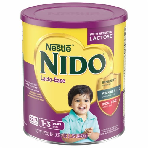Nestle NIDO Lacto-Ease Toddler Milk Beverage Perspective: front