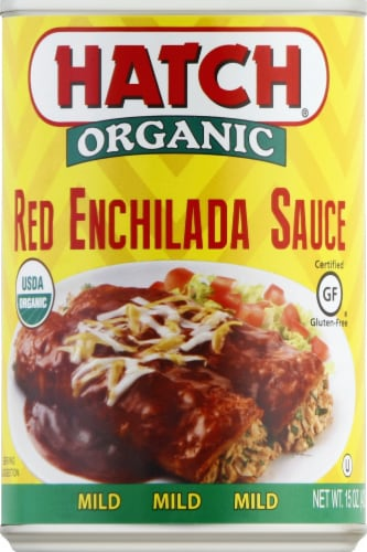 Hatch Farms Red Enchilada Sauce Perspective: front
