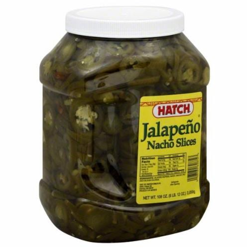 Hatch Jalapeno Nacho Slices Perspective: front
