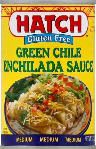 Hatch Medium Green Chile Enchilada Sauce Perspective: front