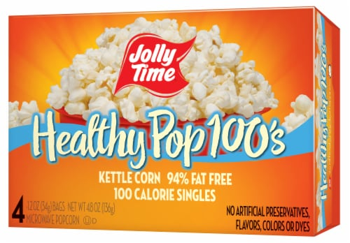 Jolly Time Healthy Pop 100s Kettle Corn Perspective: front
