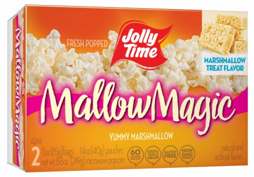 Jolly Time Mallow Magic Popcorn Perspective: front