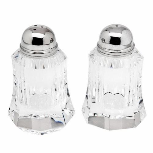 Godinger Amsterdam Salt & Pepper Shakers Perspective: front