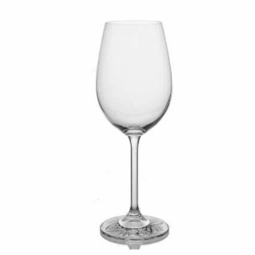Godinger 22508 12 oz Touch of Dublin White Wine Glass Perspective: front