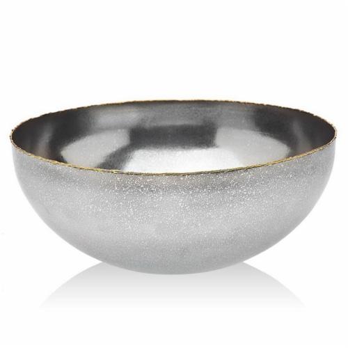 Godinger 84103 Golden Frost Salad Bowl Perspective: front