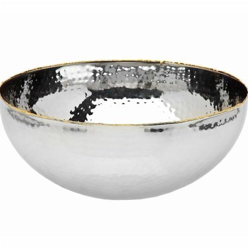 Godinger 91308 11 in. Artisan Loft Salad Bowl Perspective: front