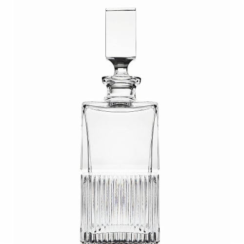 Godinger 99290 750 ml Latitude Whiskey Decanter Perspective: front