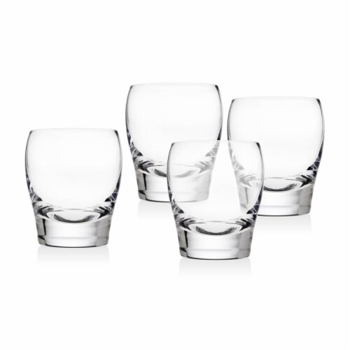 Godinger 10 oz Molten Tumbler - Set of 4 Perspective: front