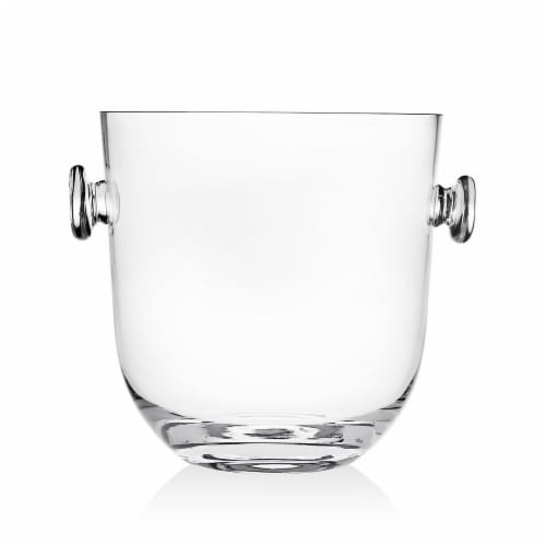 Godinger Rondo Ice Bucket, Clear Perspective: front