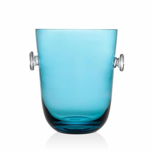 Godinger 99953 Rondo Sea Blue Champagne Bucket Perspective: front