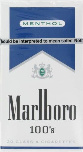 QFC - Marlboro Menthol Blue 100s Cigarettes, 1 Pack