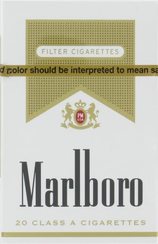 Smith's Food and Drug - Marlboro Gold Cigarettes, 1 Pack
