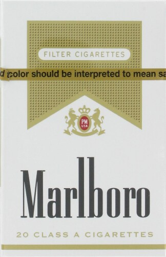 Fred Meyer - Marlboro Gold Cigarettes, 1 Pack
