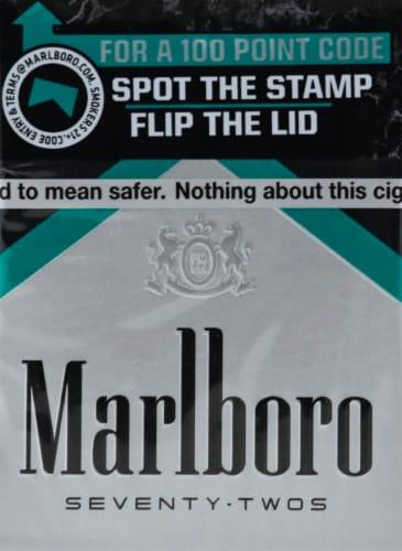 Marlboro Seventy-Twos Cigarettes Perspective: front