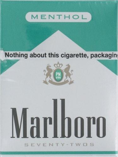 Ralphs - Marlboro Green 72s Cigarettes, 1 Pack