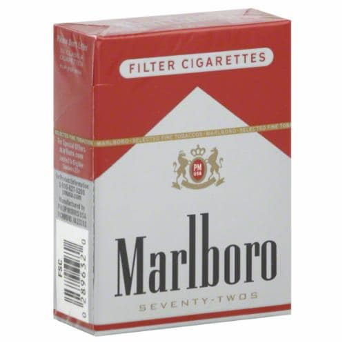 Food 4 Less - Marlboro Red 72s Cigarettes, 1 Pack
