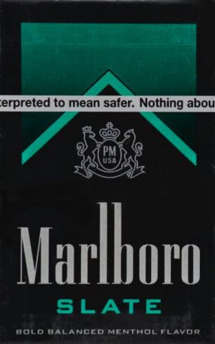 Marlboro Slate Cigarettes Perspective: front