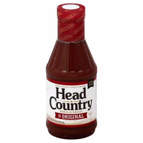 Head Country Original Barbecue Sauce Perspective: front