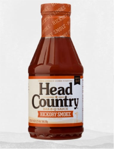 Head Country Hickory Smoke Barbecue Sauce Perspective: front