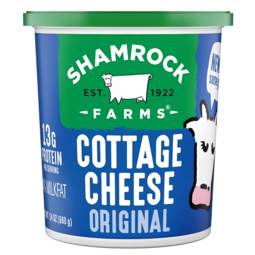 Shamrock Farms Regular Cottage Cheese Perspective: front