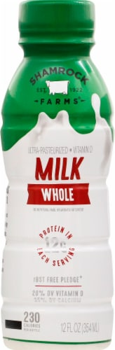 Shamrock Farms Whole Milk Perspective: front