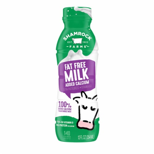 Shamrock Farms Fat Free Milk Perspective: front