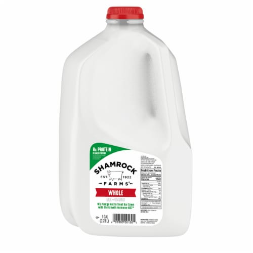 Shamrock Farms Vitamin D Whole Milk Perspective: front