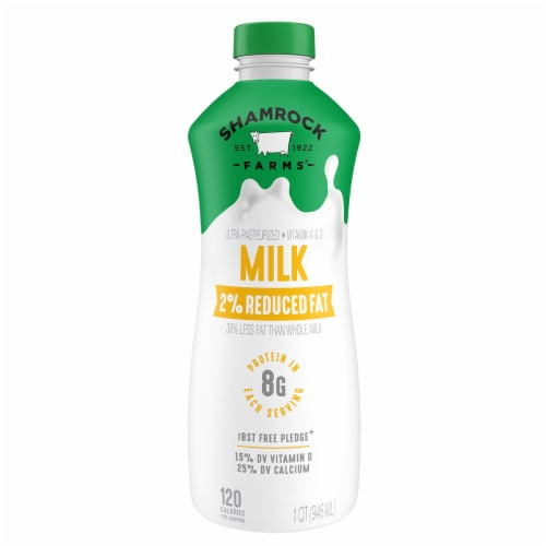 Shamrock Farms 2% Reduced Fat Milk Perspective: front