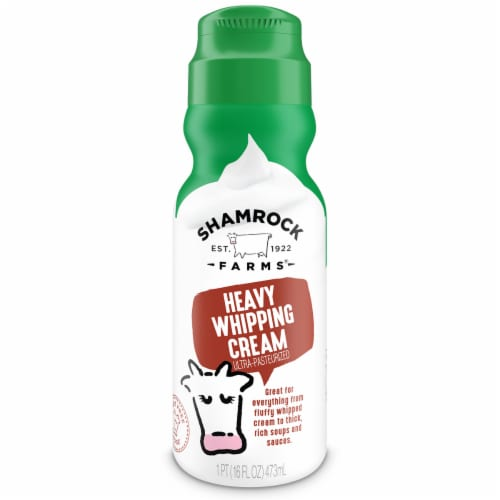 Shamrock Farms Heavy Whipping Cream Perspective: front