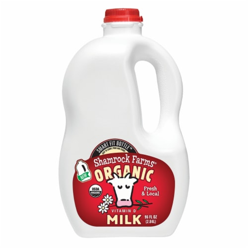 Shamrock Farms Organic Whole Milk Perspective: front