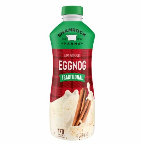 Shamrock Farms Eggnog Perspective: front