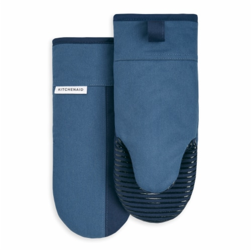 KitchenAid Beacon Oven Mitt Set - 2 Pack - Navy / Ink Blue Perspective: front