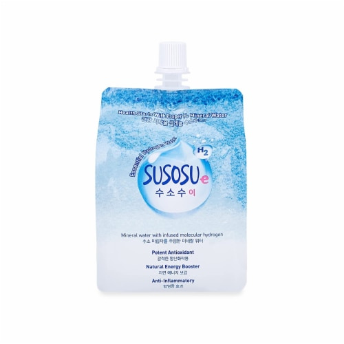 Susosu Water - Hydrogen Infused Water 300 mL (10 Pack) Perspective: front