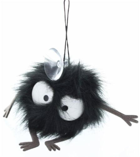 """Spirited Away Soot Sprite 2"""" Cling Plush with Suction Cup Perspective: front"""