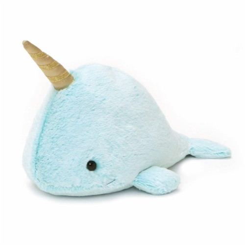 Gund Nori Narwhal 12 Inch Plush Perspective: front